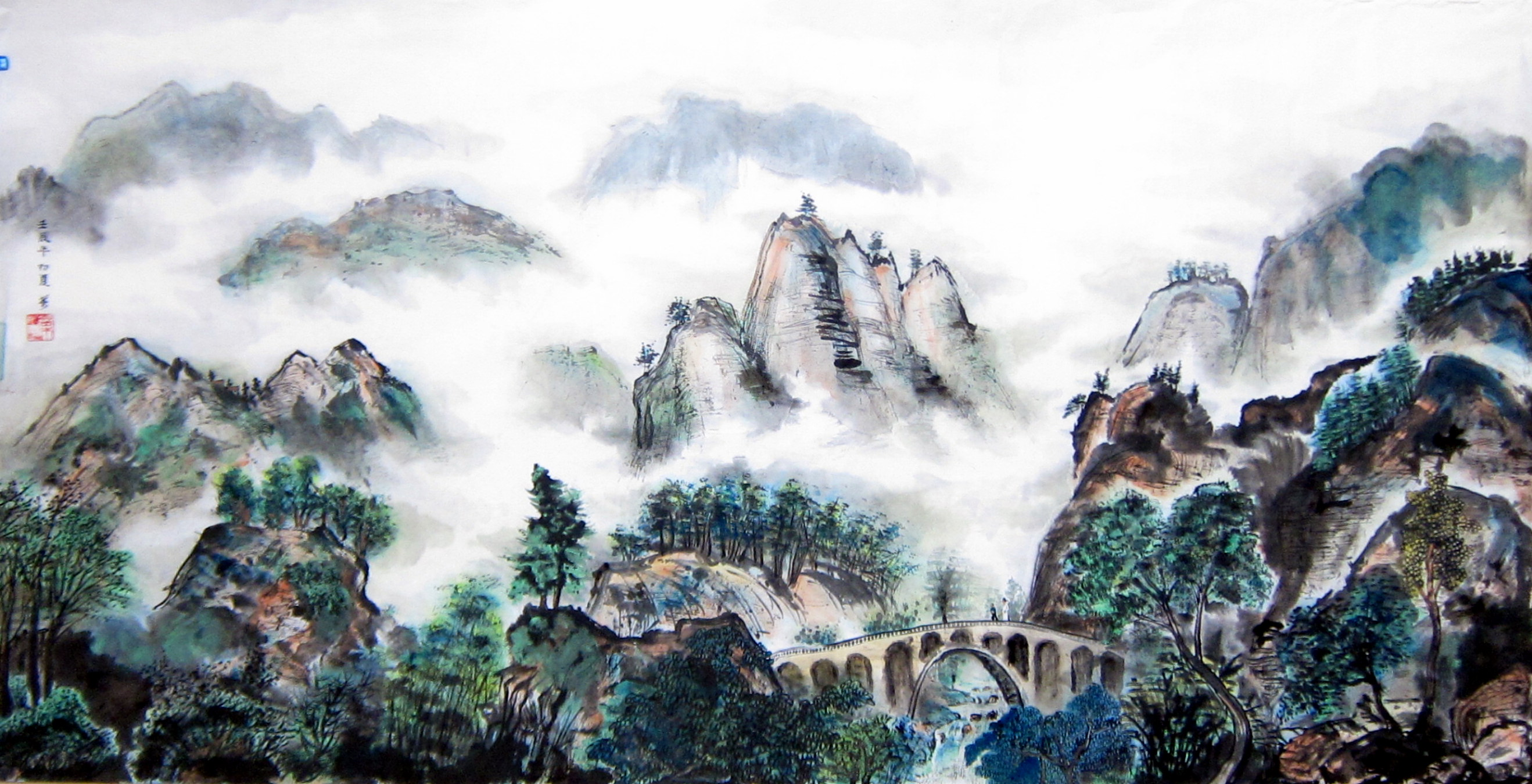 Yipsss Chinese Paintings And Watercolors